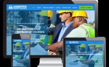 Asbestos Online Training website